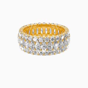14K Gold Love Always Wedding Eternity Bands
