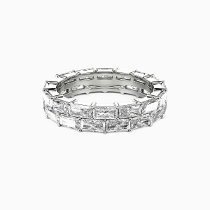 14K White Gold Ever Ours Wedding Eternity Bands