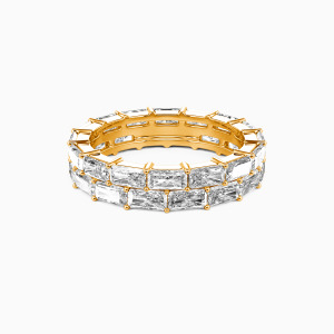 18K Gold Ever Ours Wedding Eternity Bands