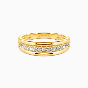 10K Gold Forever Together Wedding Men's Bands