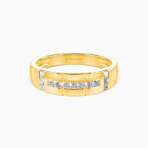 10K Gold My Galaxy Wedding Men's Bands