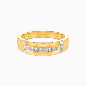 14K Gold My Galaxy Wedding Men's Bands