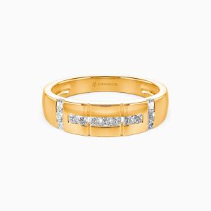 18K Gold My Galaxy Wedding Men's Bands