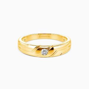 10K Gold My Hope My Inspiration  Wedding Men's Bands