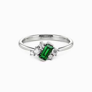 10K White Gold Get Lucky Jewelry Rings