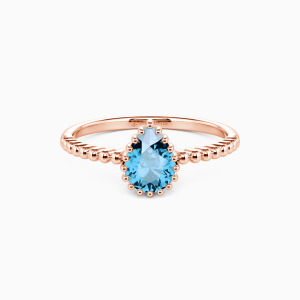10K Rose Gold We Are Doomed Jewelry Rings