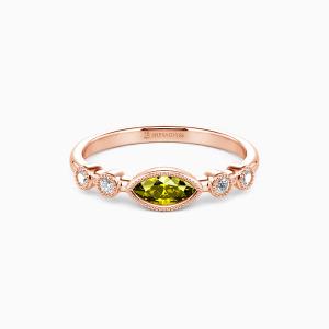 10K Rose Gold Best Love Jewelry Rings