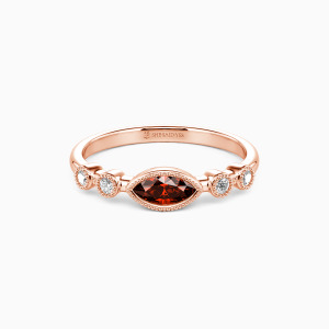 10K Rose Gold Best Love Jewelry Rings